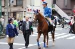 お会式:騎馬隊②