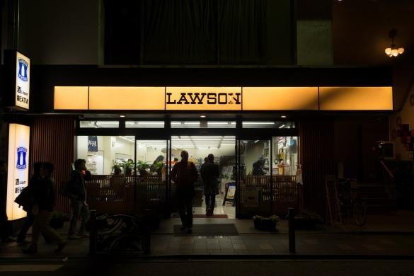花見小路通にて④ LAWSON