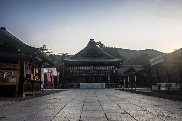 八坂神社にて③