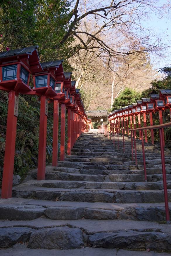 貴船神社 石段