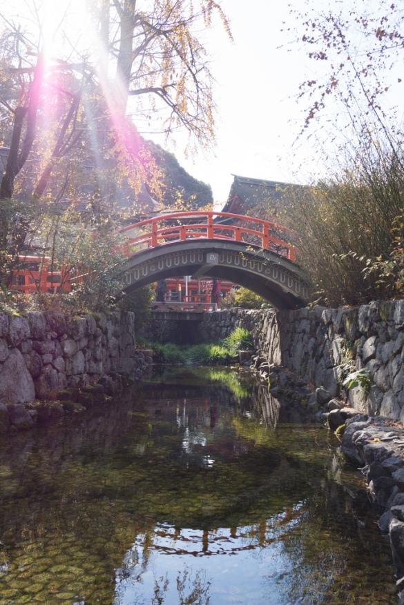 下鴨神社にて② 輪橋