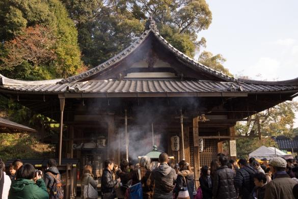 金閣寺にて⑤ 不動堂