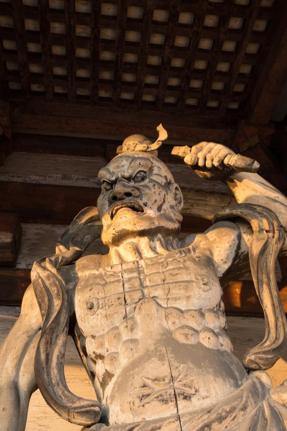 仁和寺にて⑤ 仁王像
