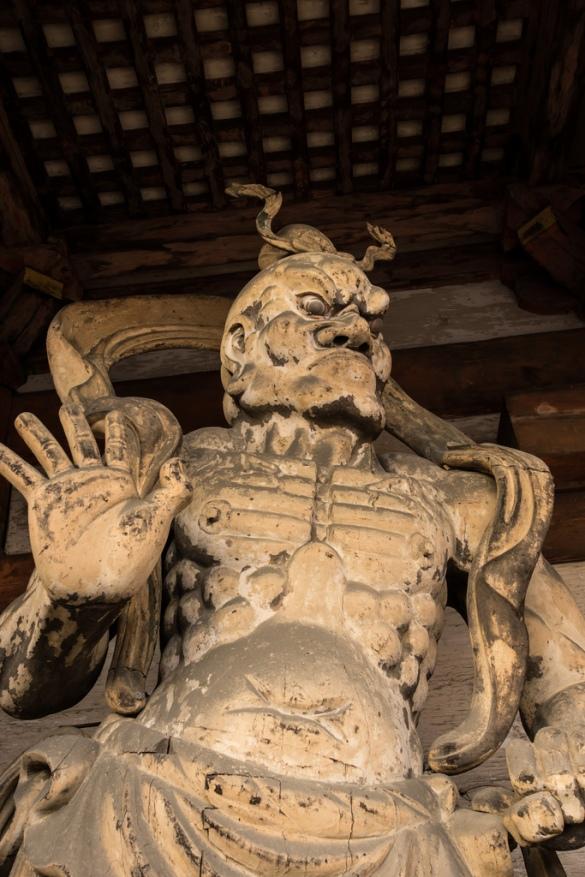 仁和寺にて⑥ 仁王像