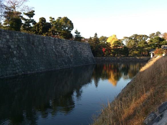 二条城にて⑤ お堀
